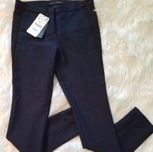 Zara Navy Skinny Pants